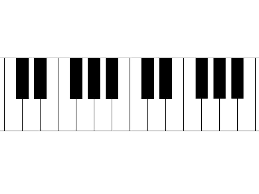ペンタトニックスケールの覚え方(ピアノ)&特徴を簡単に解説